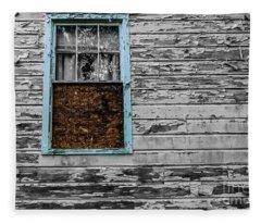 The Blue Window Fleece Blanket