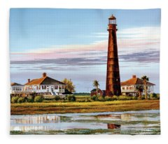 The Bolivar Lighthouse Fleece Blanket