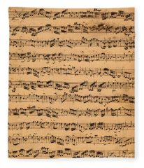 The Brandenburger Concertos Fleece Blanket
