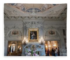 The Breakers Vanderbilt Mansion Newport Rhode Island Splendor Fleece Blanket