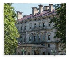 The Breakers Vanderbilt Mansion Newport Rhode Island Fleece Blanket