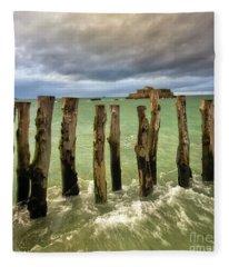 The Breakwater Fleece Blanket