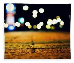 The Bricks Fleece Blanket