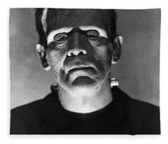 The Bride Of Frankenstein Fleece Blanket