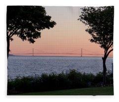 The Bridge From The Island Fleece Blanket