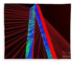 The Bridge Fleece Blanket