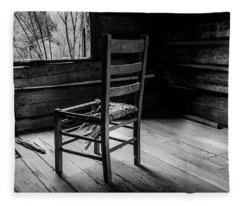 The Broken Chair Fleece Blanket