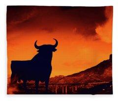 Spanish Fleece Blanket