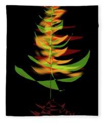 The Burning Bush Fleece Blanket