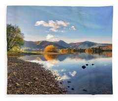 The Burning Bush Fleece Blanket