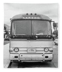 The Bus To Laredo Fleece Blanket