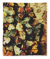 The Butterfly Loft Fleece Blanket