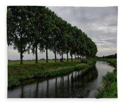 The Canal Fleece Blanket