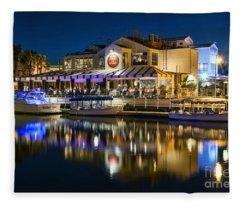 The Cannery Restaurant Fleece Blanket
