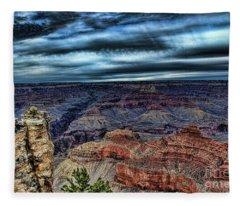 The Canyon Fleece Blanket