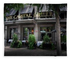 The Capital Grille Fleece Blanket