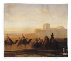The Caravan Fleece Blanket