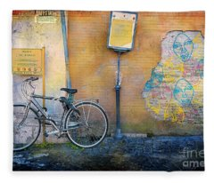 The Carnielli Bicycle Fleece Blanket
