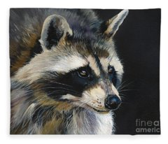 The Cat Food Bandit Fleece Blanket