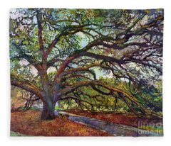 The Century Oak Fleece Blanket