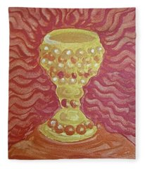 The Chalice Or Holy Grail Fleece Blanket