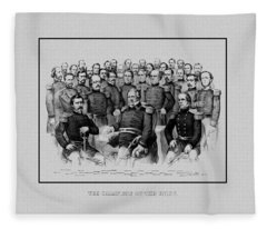 The Champions Of The Union -- Civil War Fleece Blanket