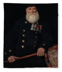 The Chelsea Pensioner Fleece Blanket