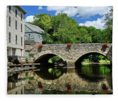 The Choate Bridge Fleece Blanket