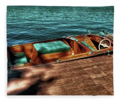 The Chris Craft Continental - 1958 Fleece Blanket