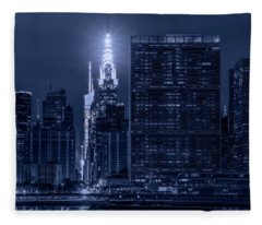The Chrysler Star Fleece Blanket