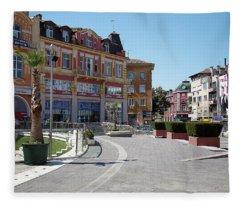 The City Of Seven Hills Fleece Blanket