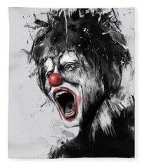 The Clown Fleece Blanket