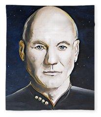 The Commanding Officer Fleece Blanket