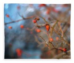 The Color Of Winter Fleece Blanket