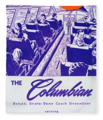 The Columbian Fleece Blanket