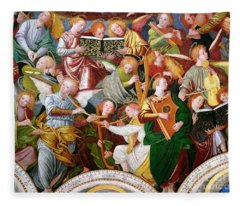 The Concert Of Angels Fleece Blanket