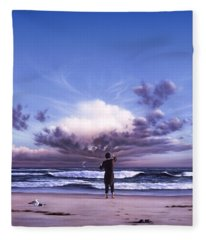 The Conductor Fleece Blanket