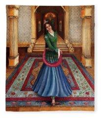 The Court Dancer Fleece Blanket