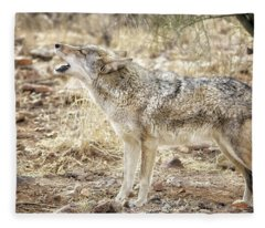 The Coyote Howl Fleece Blanket