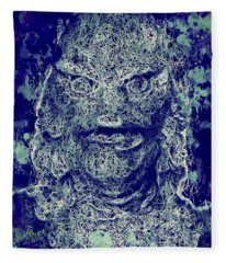 Creature From The Black Lagoon Fleece Blanket