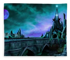 The Crystal Palace - Nightwish Fleece Blanket