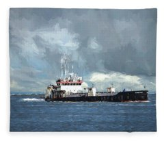 The Currituck Fleece Blanket