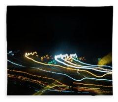 The Curve Fleece Blanket