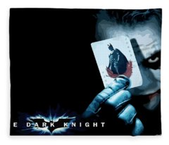 The Dark Knight Fleece Blanket