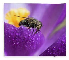 Dew Drinker Fleece Blanket