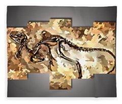 The Dino Find Fleece Blanket