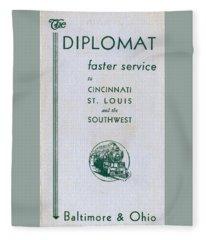 The Diplomat Fleece Blanket