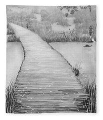 The Divine Path Fleece Blanket