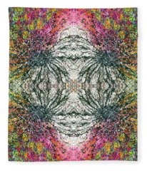 The Divine Within The 5d Earth #1315 Fleece Blanket