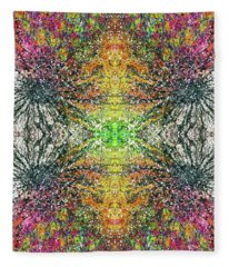 The Divine Within The 5d Earth #1317 Fleece Blanket